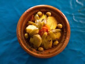 klasyczne danie kuchni marokanskiej